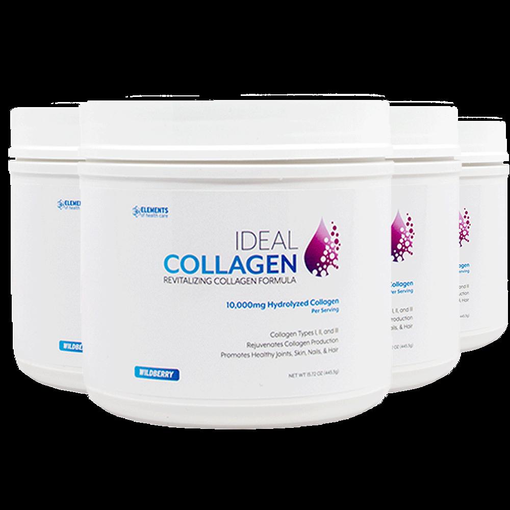 4 Bottles of Ideal Collagen