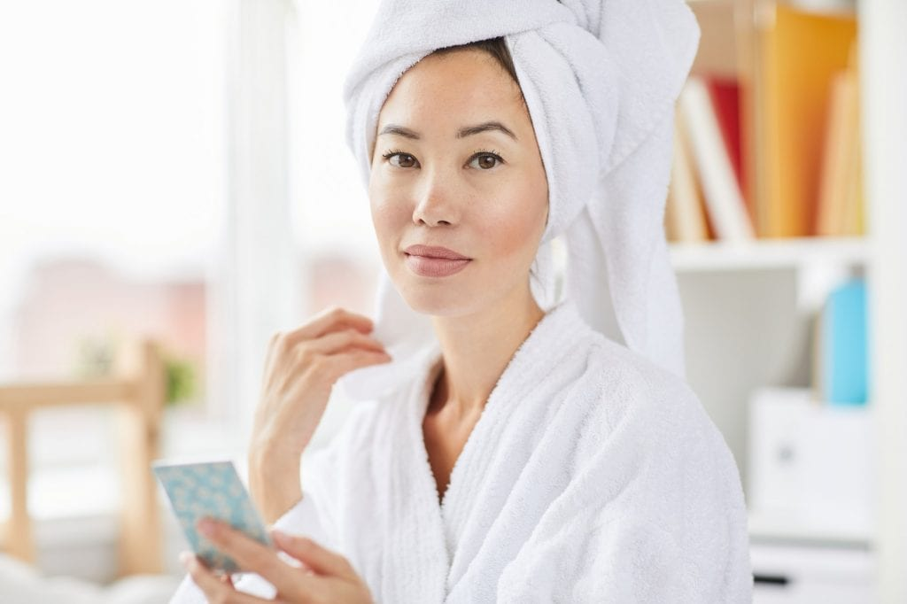 Beautiful and Fresh Asian Woman